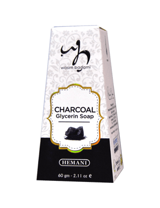 Charcoal Glycerin Soap
