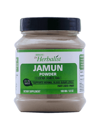 Dr. Herbalist Jamun Powder 100 Gm