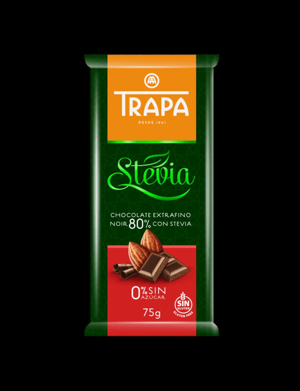 Stevia Chocolate Noir 80%