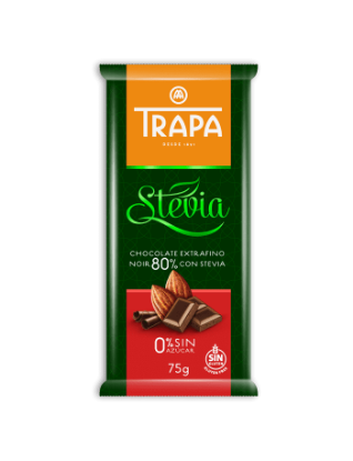 Stevia Chocolate Noir 80%