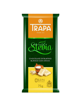 Stevia White Chocolate 75Gm