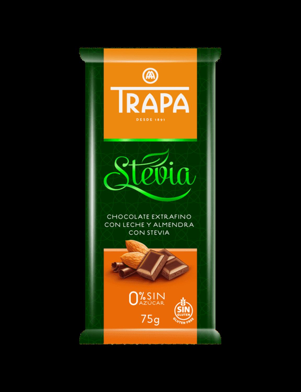 Stevia Chocolate With Almond