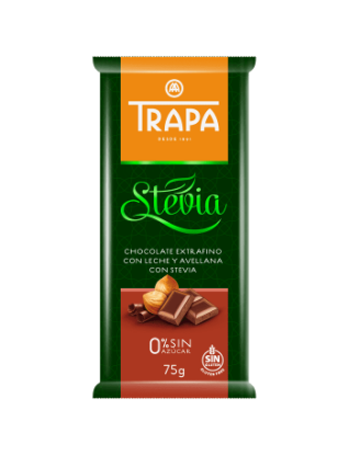 Stevia Chocolate With Hazelnut