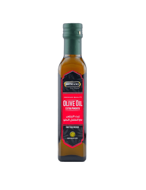 Hemani Extra Virgin Olive Oil With Pimento