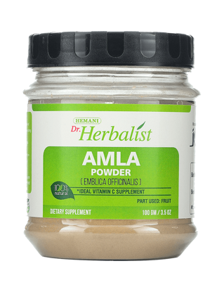Picture of Dr. Herbalist Amla Powder 100 Gm