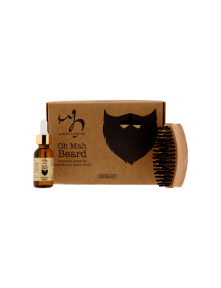Picture of Premium Beard Oil With Wooden Beard Brush