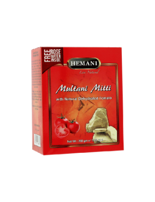 Multani Mitti with Dehydrated Tomato