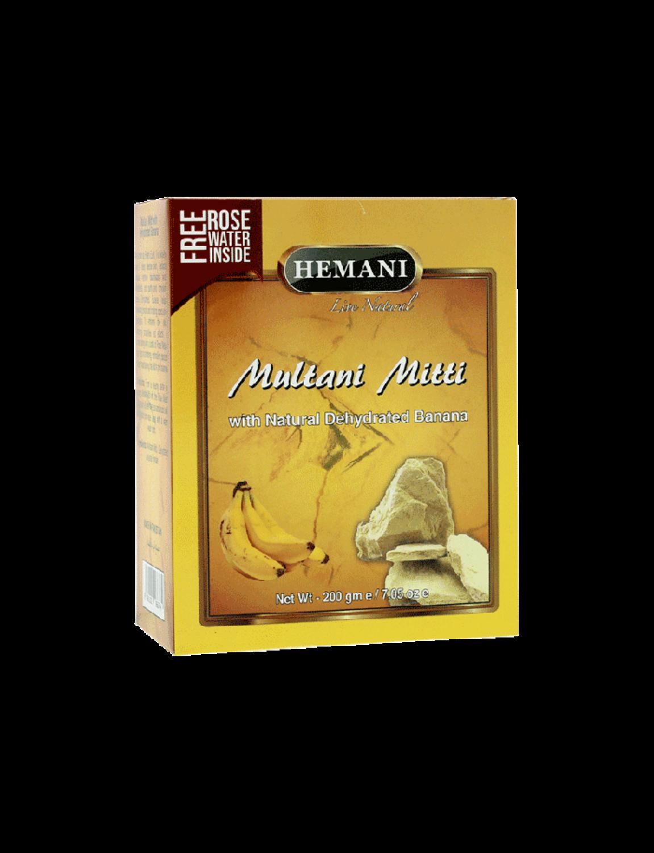 Multani Mitti with Dehydrated Banana