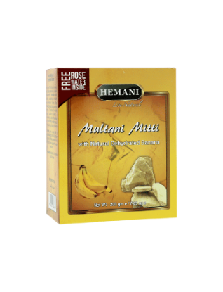Multani Mitti with Dehydrated Banana