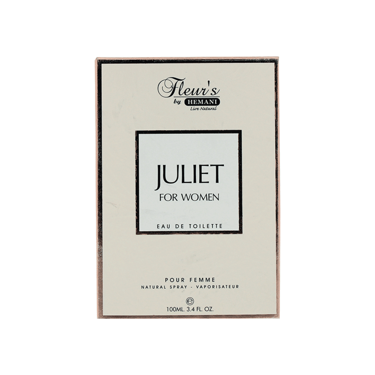 Juliet Perfume for Women - Fleur's by Hemani Herbals