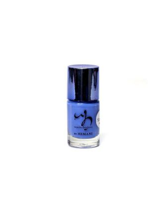 Nail Polish Mirror Metallic Blue