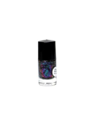 Picture of Nail Polish Flakies Black