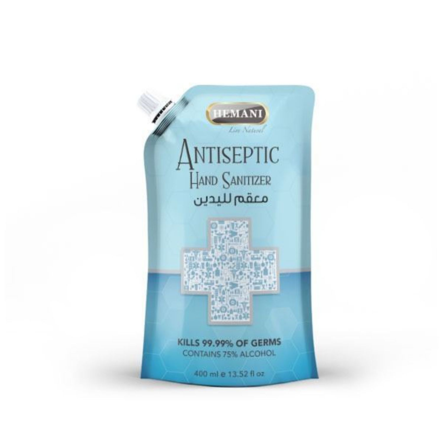 Picture of Antiseptic Hand Sanitizer Pouch 400ml