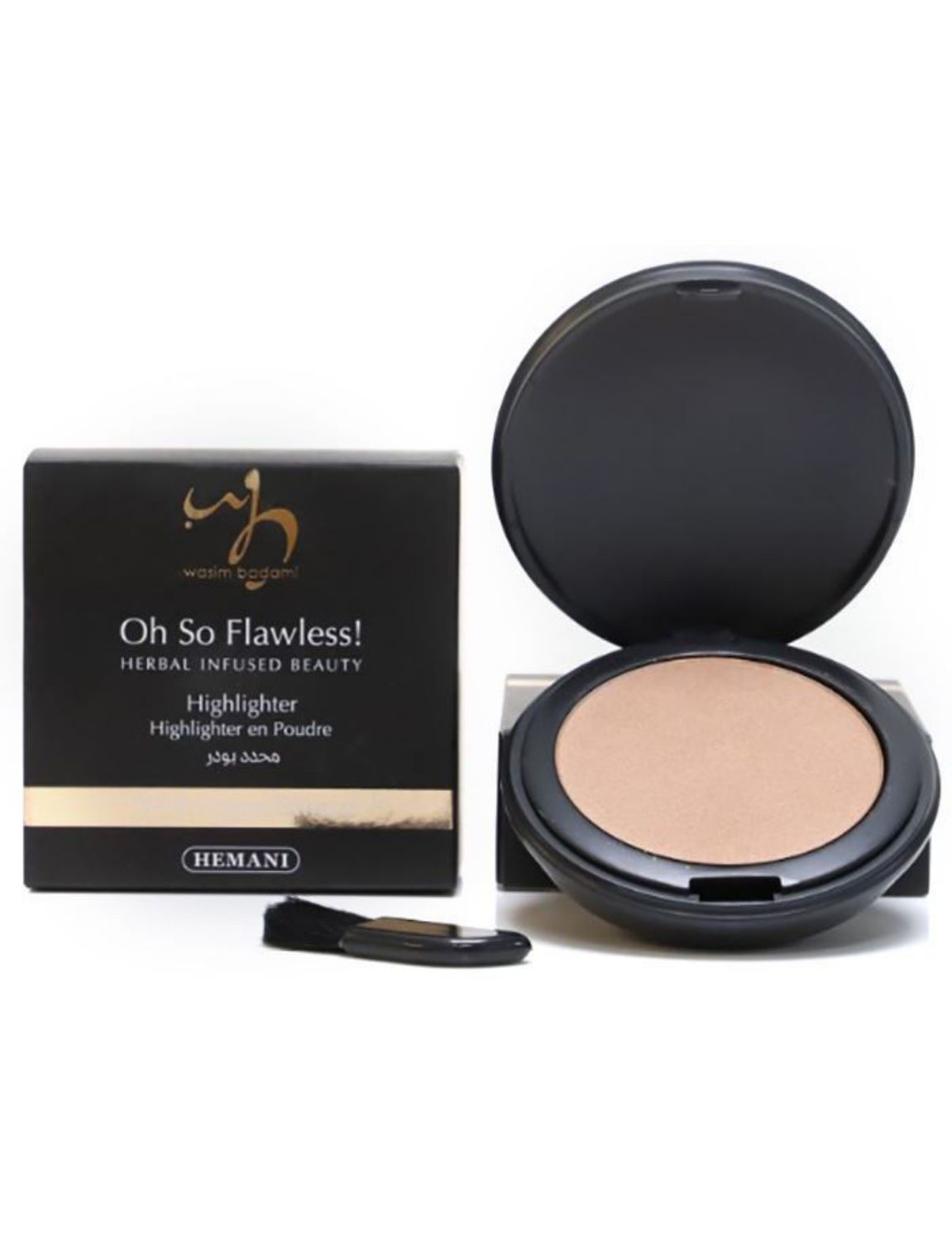 herbal infused beauty powder highlighter 210 bright beam