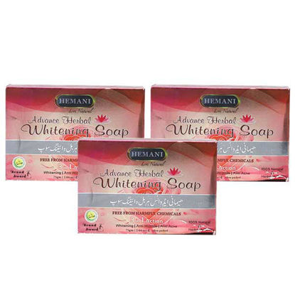 WB by Hemani Pack of 3 Soaps