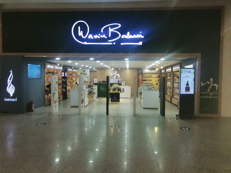 wb by hemani store karachi outlet addresses timings map directions