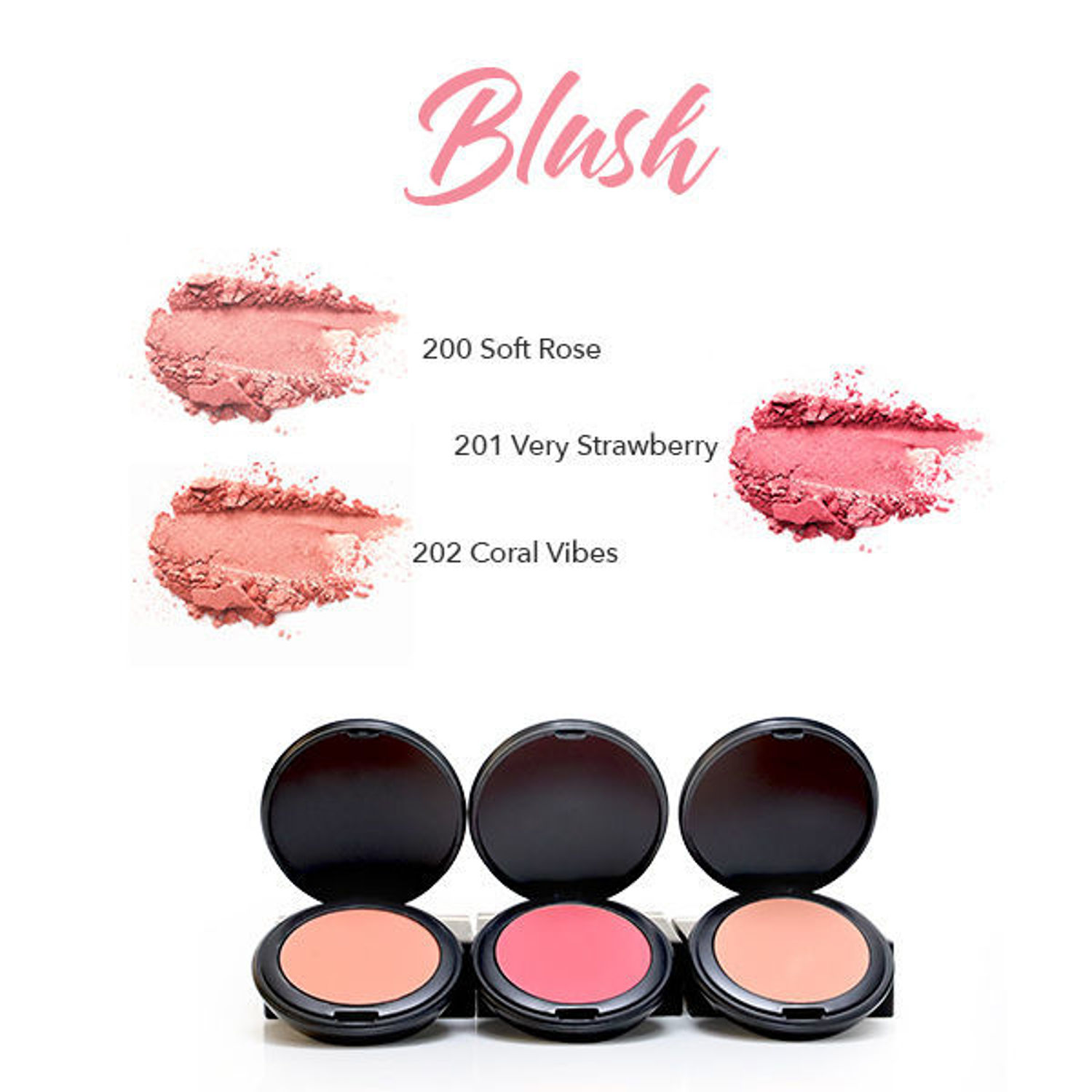 HERBAL INFUSED BEAUTY Blush Swatches