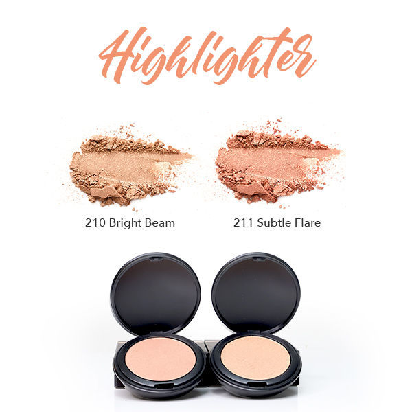 HERBAL INFUSED BEAUTY Powder Highlighter Swatches