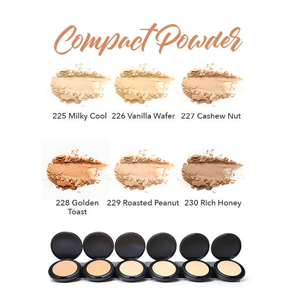 HERBAL INFUSED BEAUTY Compact Powder Swatches