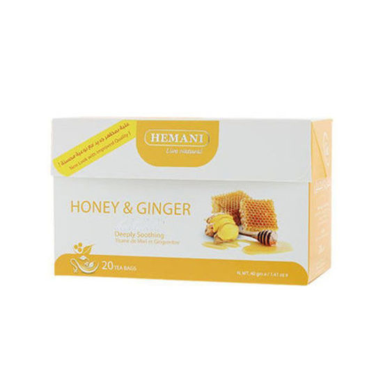 Hemani Honey & Ginger Herbal Tea
