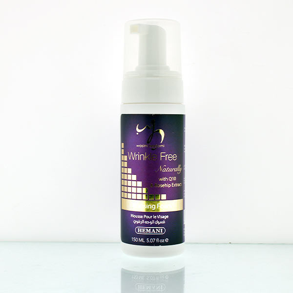 Wrinkle Free Naturally Cleansing Foam With Q10 & Rosehip Extract