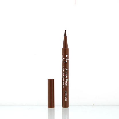 wb by hemani oh so flawless super fine comb and fill brow marker - auburn