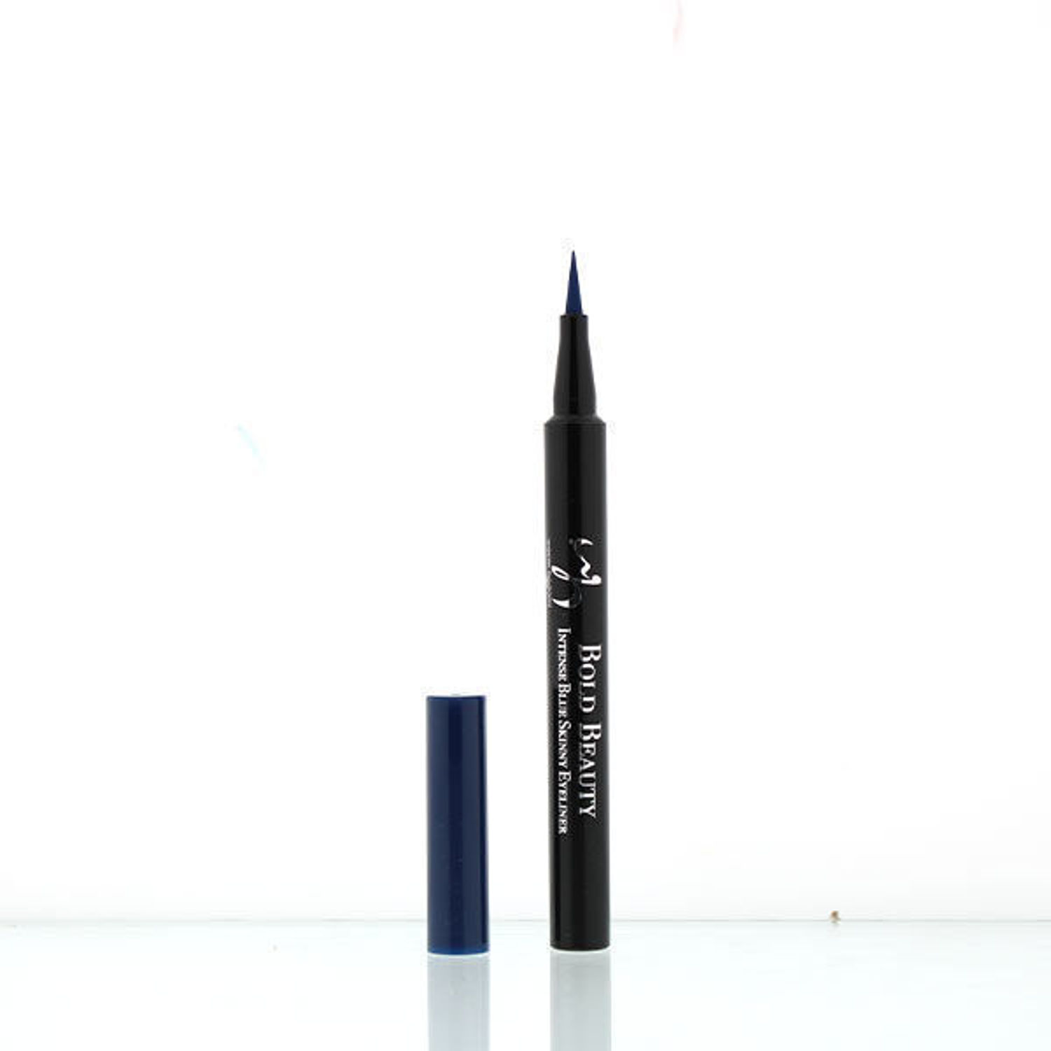 wb by hemani oh so flawless bold beauty skinny eyeliner - intense blue