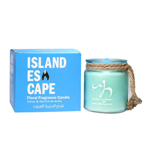 WB by Hemani floral scented candle - Island Escape