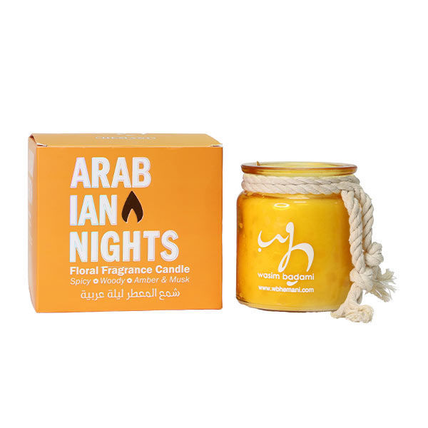 WB by Hemani floral scented candle - Arabian Nights
