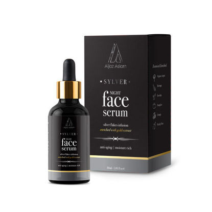 Picture of Sylver Night Face Serum anti-aging | night routine (Aijaz Aslam)