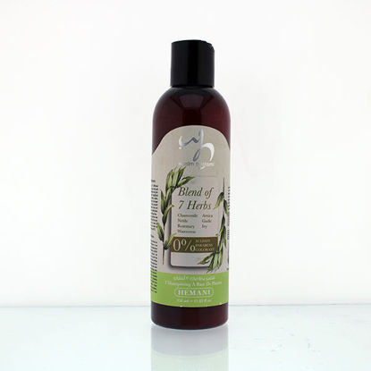 wb by hemani sulfate free shampoo blend of 7 herbs 7 in 1 shampoo