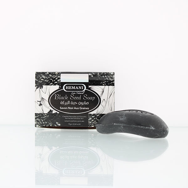 hemani herbal soap 75g black seed soap for moisturized supple, calm and soothed skin