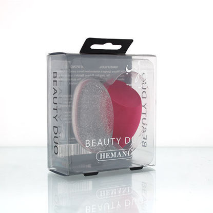 WB by Hemani Beauty Duo - blender and sponge - pink