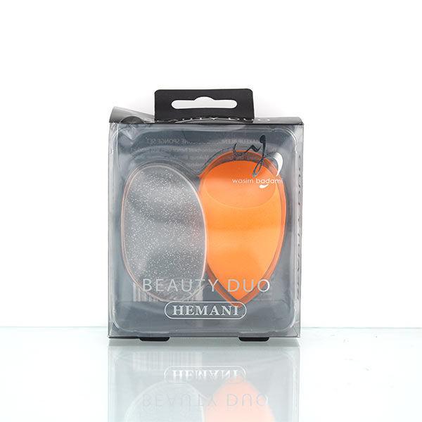 WB by Hemani Beauty Duo - blender and sponge - orange