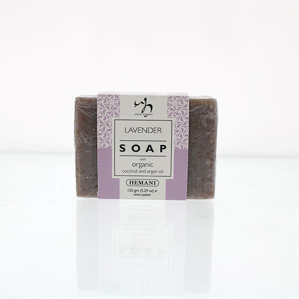 WB by Hemani Herbal Soap with Organic Argan Oil & Organic Coconut Oil - Lavender