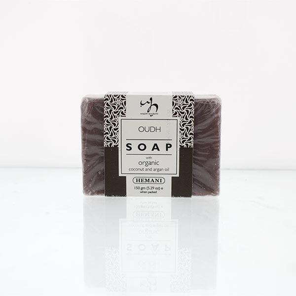WB by Hemani Herbal Soap with Organic Argan Oil & Organic Coconut Oil - Oud
