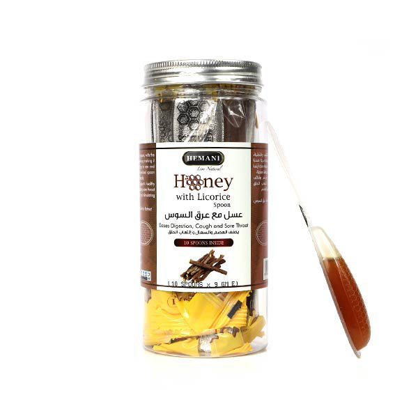 Hemani Herbal Honey Spoon - Licorice