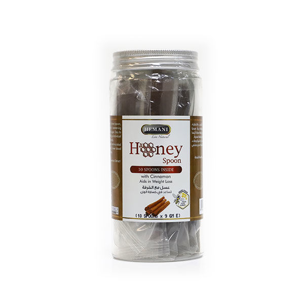 Hemani Honey Spoon - Cinnamon - Aids in Weight Loss