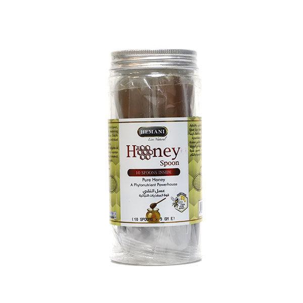 Hemani Honey Spoon - Pure Honey - Phytonutrient Powerhouse