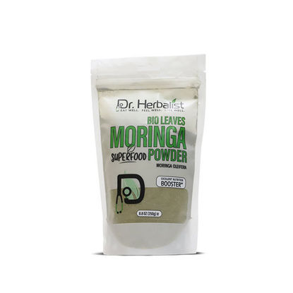 Dr Herbalist Superfood Moringa Bio Leaves Powder
