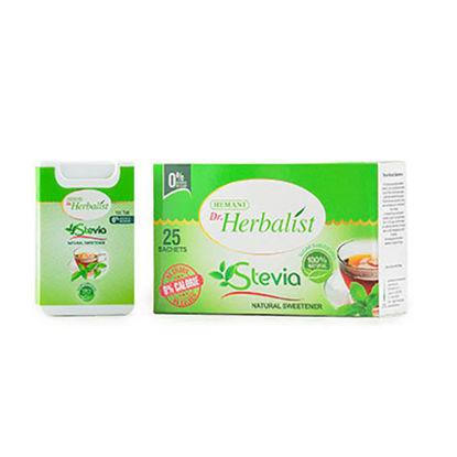 Dr Herbalist Stevia Sweetener Sachet & Tablet