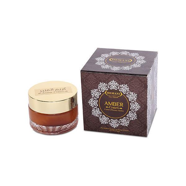 Hemani Amber perfume cream