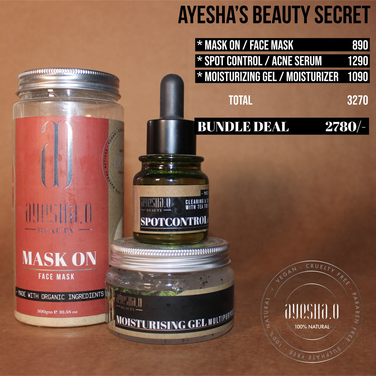 Ayesha's Beauty Secret