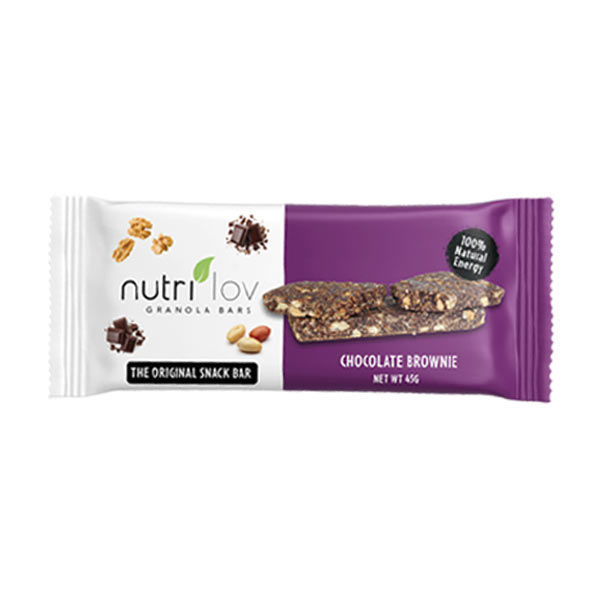 Nutrilov Chocolate Brownie Granola Bar