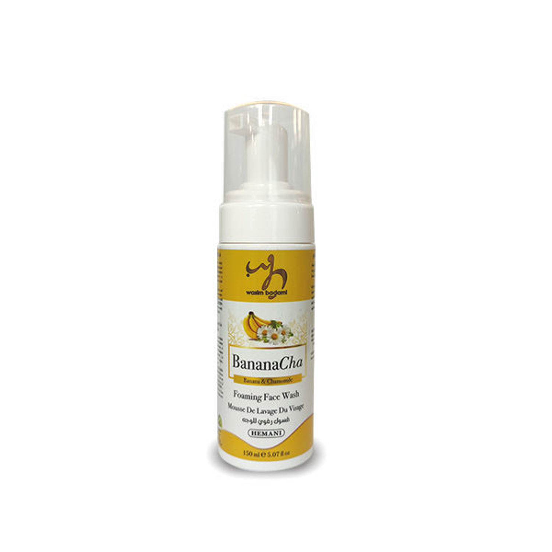 WB - Organic Banana & Chamomile Foaming Face Wash 150ml