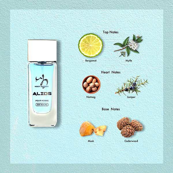 WB by Hemani Alios Mini Perfume Notes