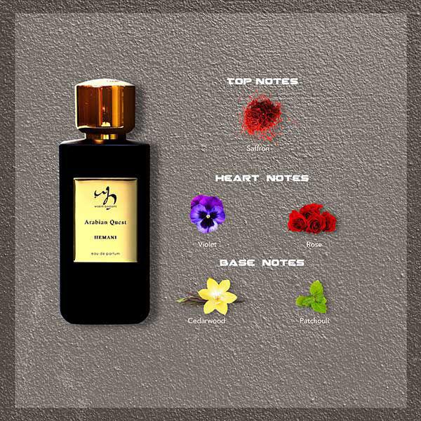 Arabian Quest Perfume For Men & Women Notes