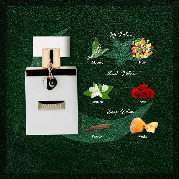 Wb by Hemani Patriot Perfume White - Notes