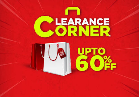 Picture for category Stock Clearance Corner